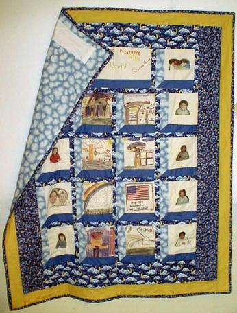 Quilt Patterns For Kindergarten : Kindergarten Quilt
